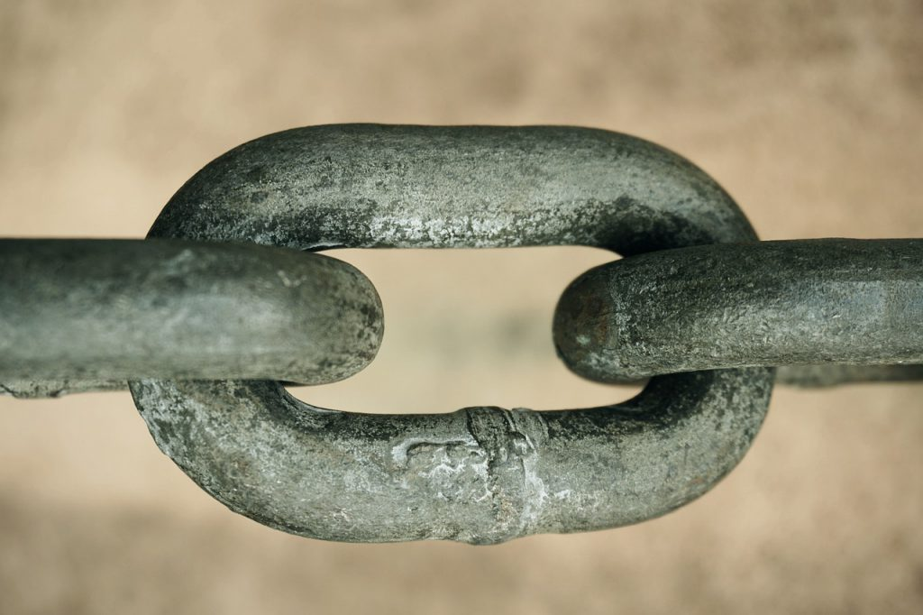 chain, connection, containing